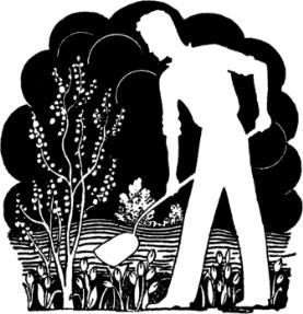 man-digging-silhouette